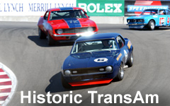 Revisit the thunder of the Trans-Am racers of the 60's & 70's.